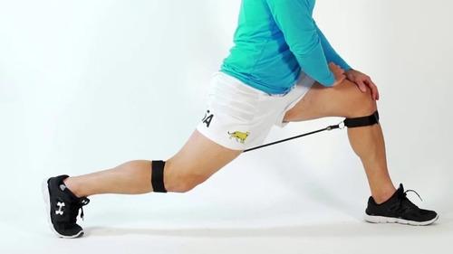 set bandas elasticas latex manijas x 5 combo fitness proyec