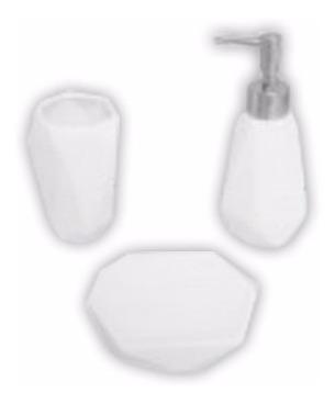 set baño accesorios