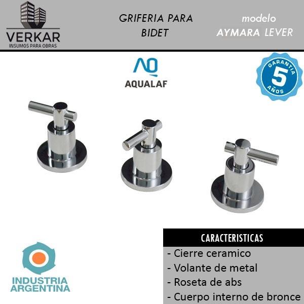Set Baño Griferia Ducha Valvula Hydra Inodoro Asiento Bidet ... 08b03ab647b4