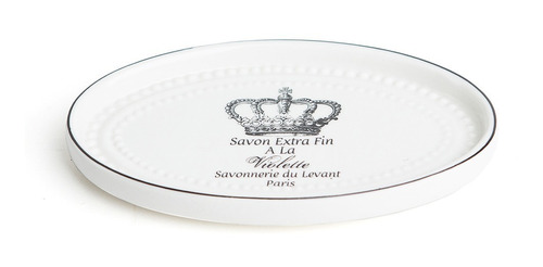set baño x3  porcelana dispenser, jabonera y porta corona