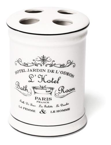 set baño x4  porcelana dispenser, vaso, jabonera y porta