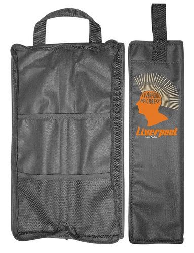 set baquetas gospel + vassourinha + bag com01 liverpool