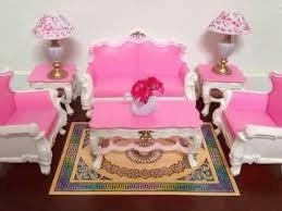 set barbie gloria sala colonial de lujo deluxe living room