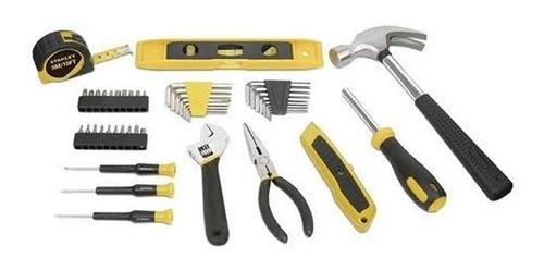 set básico de herramientas de casa 47 piezas maletín stanley