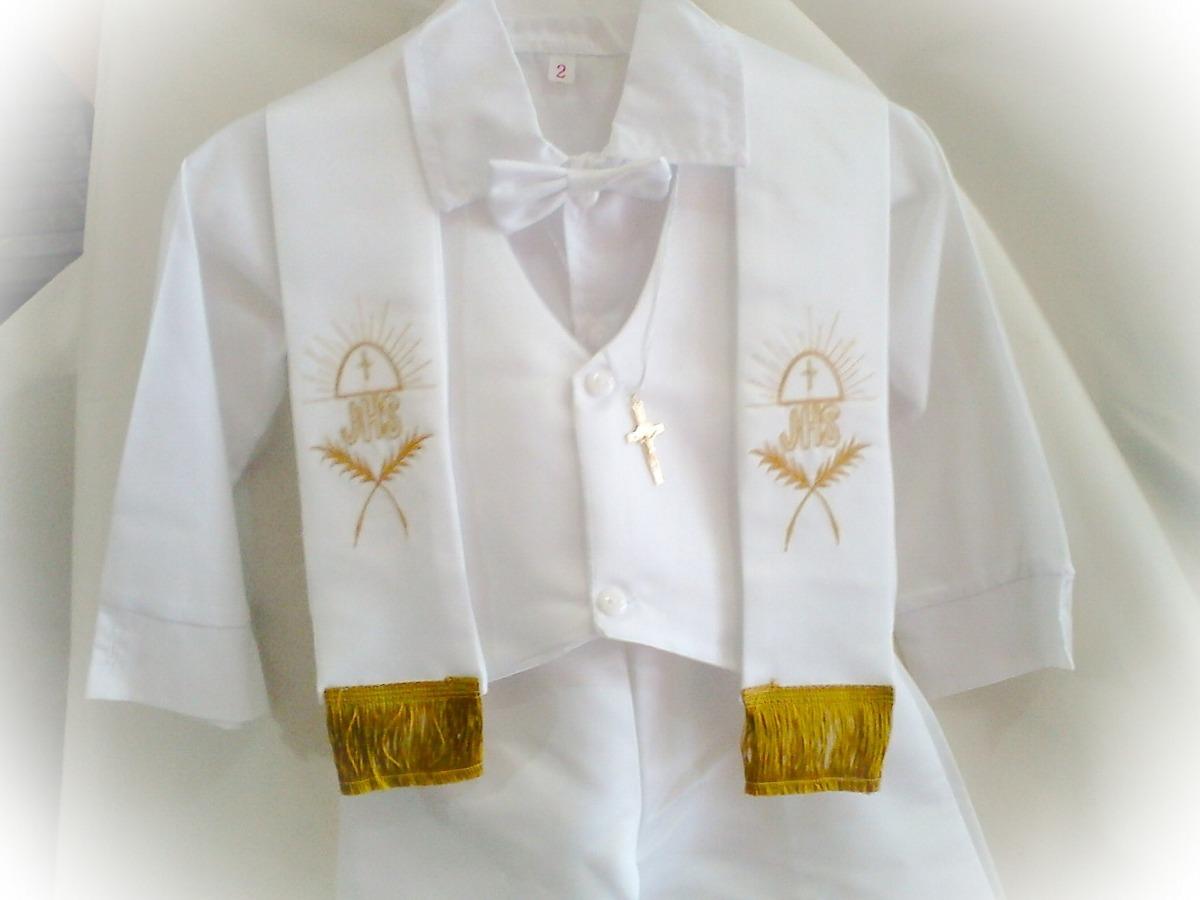 dc44540db set bautizo elegante traje ropon niño y juego vela completo. Cargando zoom.