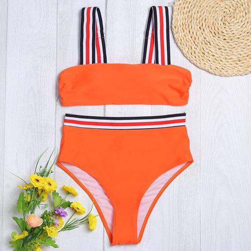set bikini diseño creativo sexy hombro mujeres