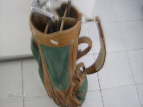 set bolso para palos de golf antiguo bolso golf remato