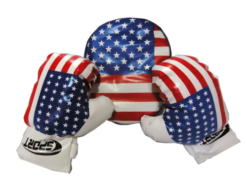 set box infantil guantes + foco entretencion deporte