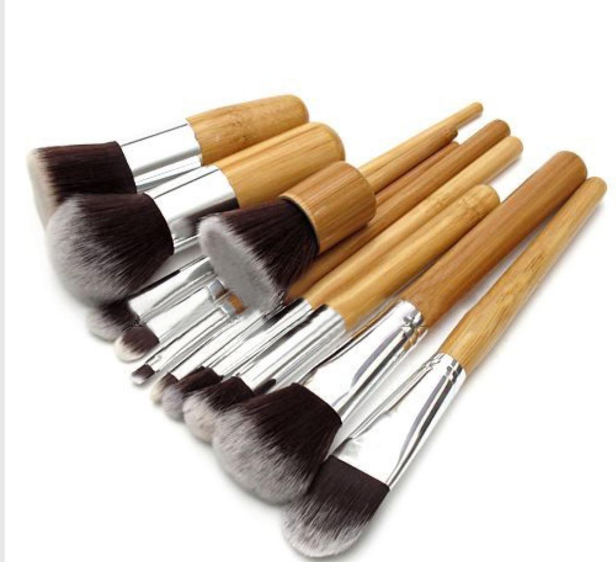 set de brochas profesionales para maquillaje 11 piezas 380 00 en mercado libre