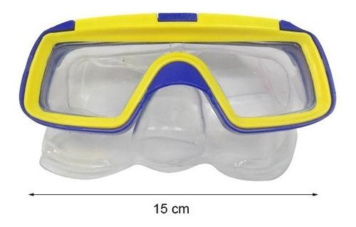 set buceo natacion infantil mascara snorkel y patas de rana