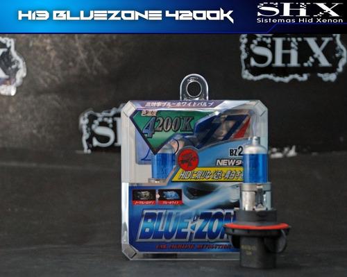 set bulbos h13 de halogeno tipo xenon 100/80w 4200k bluezone