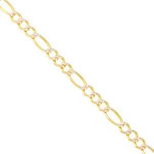 set cadena y esclava amelie joyas oro 14k diamantada-3 oros