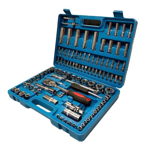 set caja de dados juego de herramientas 108 piezas ml03820