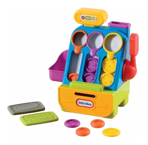 set  caja registradora little tikes