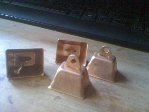 set campanitas miniatura