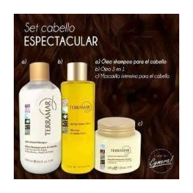 Set Capilar Incluye Oleo, Shampoo Y Mascarilla Terramar