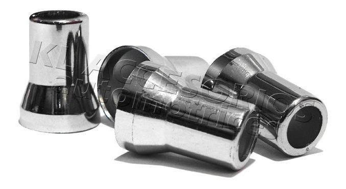 8 x negro metal válvulas acero válvulas universal llantas válvulas las válvulas de 11,3 mm