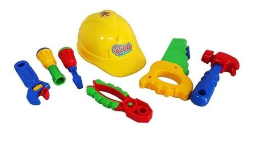 set casco con herramientas calesita 453