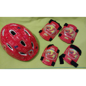Set Casco, Rodilleras Y Coderas Elmo