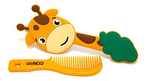 set cepillo y peine jirafa 2 piezas  83312mx