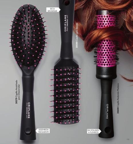 set cepillos para todo tipo cabello