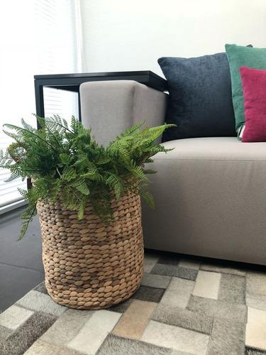 set cestas o canastas p/guardar juguetes, plantas, frazadas