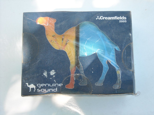 set cigarillos camel creamfields 2005 genuine sound