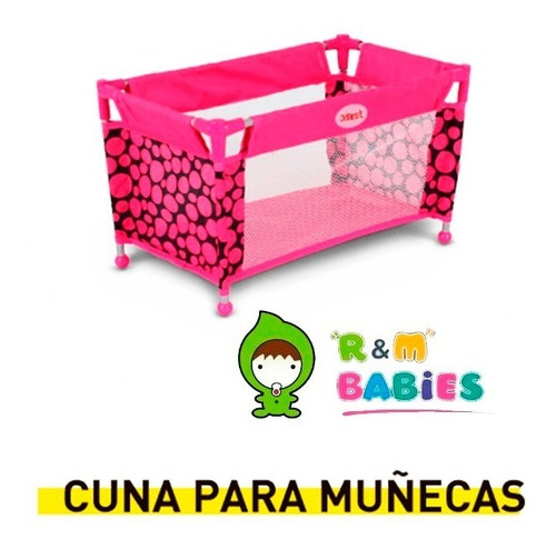 set cochecito de muñecas jogger practicuna bebesit