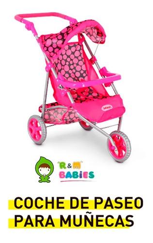 set cochecito de muñecas jogger practicuna bebesit
