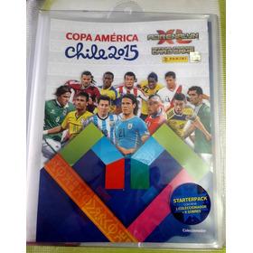 Set Coleccionador + Sobres Adrenalyn Copa America Chile 2015