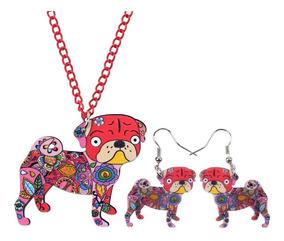 925 Plata PLT Fox Aretes Buho Rojo Animal Bosque Perro Cachorro Kitsune * Reino Unido