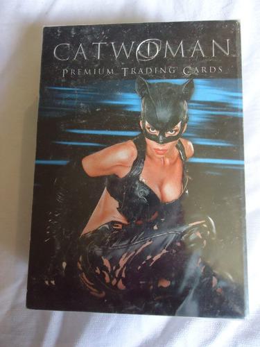 set completo 72 tarjetas dc catwoman