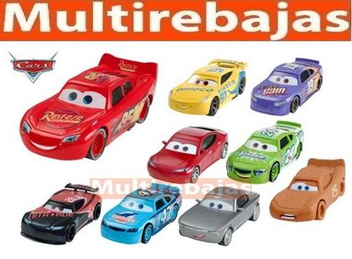 set completo de carros rayo mcqueen