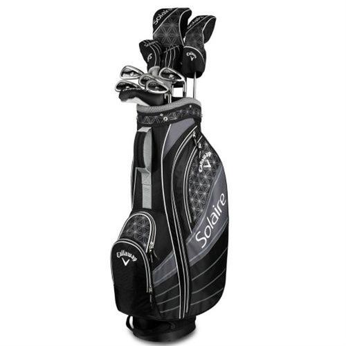 set completo de golf callaway solaire negro dama - buke golf