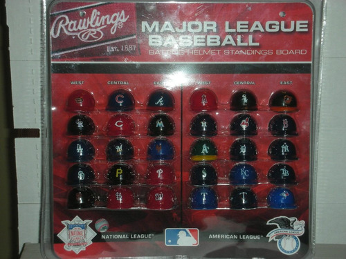 set completo de mini cascos de beisbol de grandes ligas