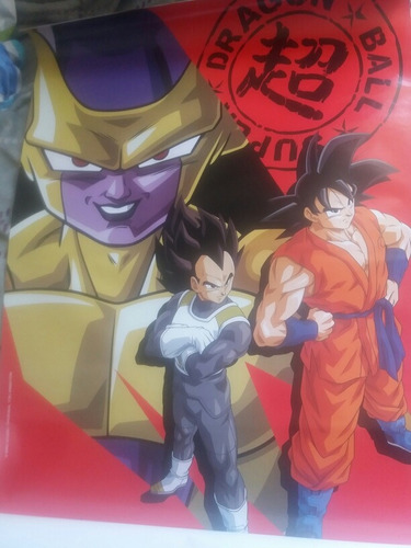 set completo de posters, album dragon ball super navarrete