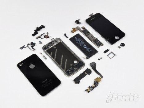 set completo de tornillos fijación para iphone 4