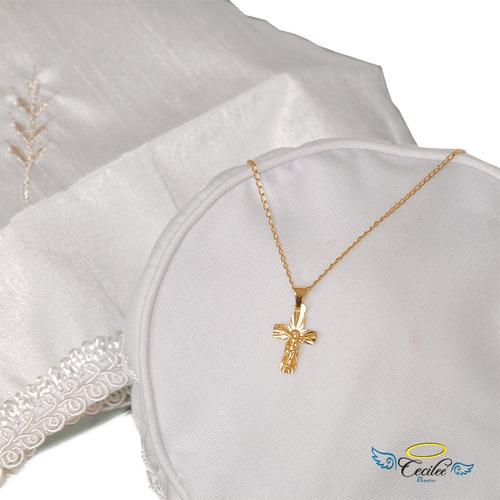 set completo ropon bautizo niño de lujo traje 65t plata