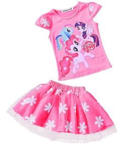 eafe23f81 Set Conjunto Importado Vestido Fiesta Cumple My Little Pony