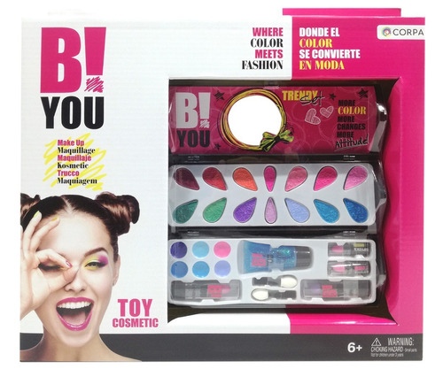 set cosmetica plegable b! you barbie (1295)