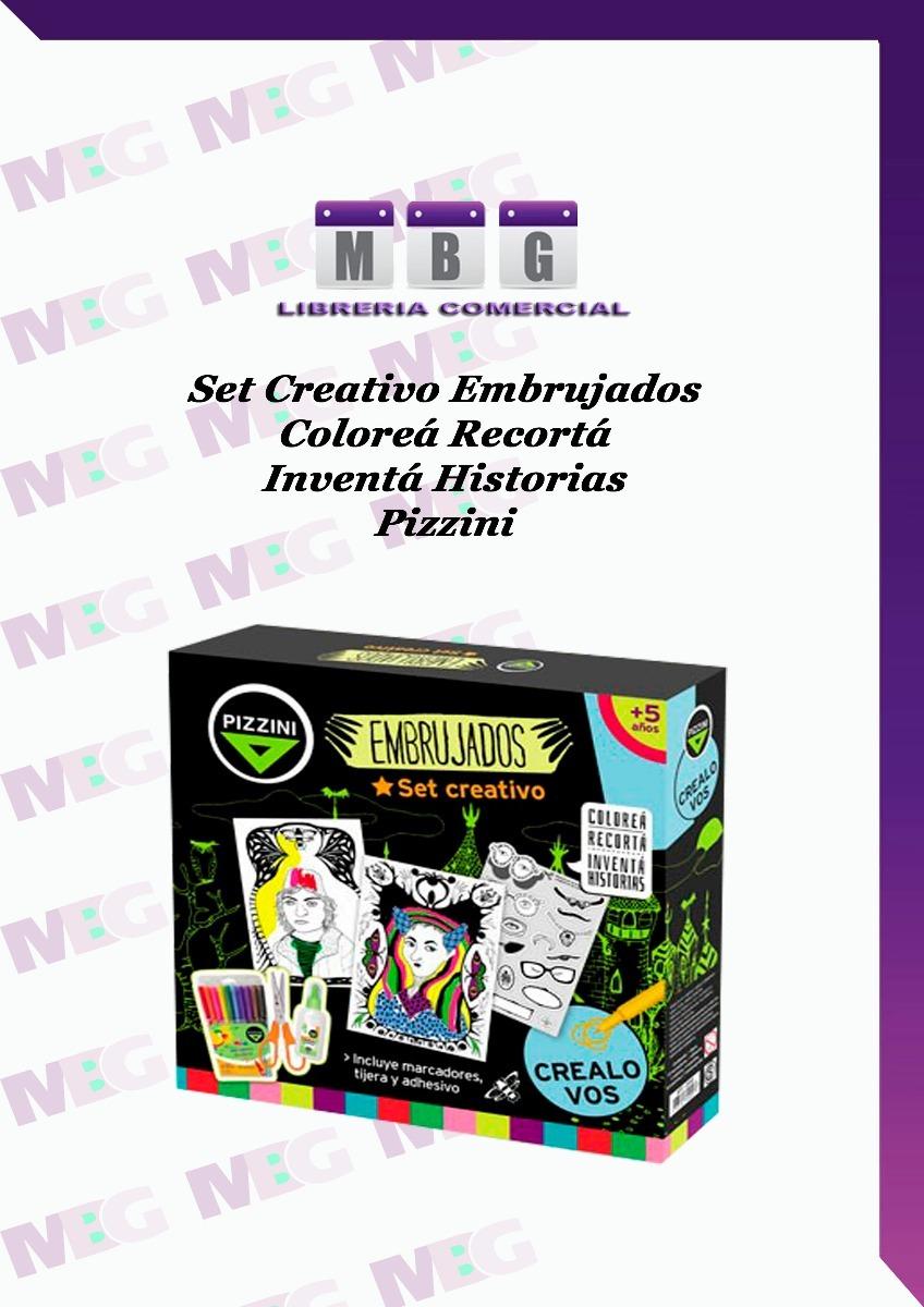 Set Creativo Embrujado Coloreá Recortá Inventá Historia - $ 190,00 ...