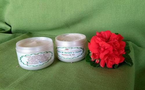 set crema artesanal nutritiva hidratante de dia y de noche