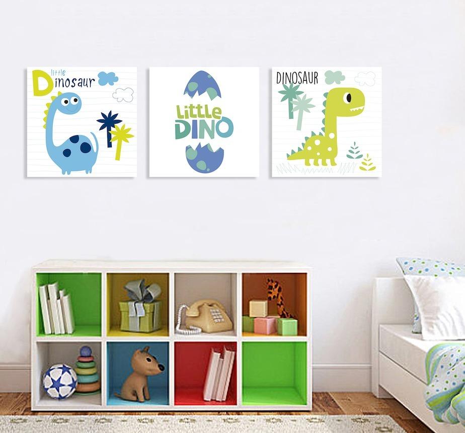 Dinosaurios cuartos de ninos - Cuadros habitacion nino ...
