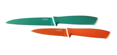 set cuchillo sierra y mondador - mageflon