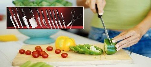 set cuchillos profesionales miracle blade de la tv 13 piezas