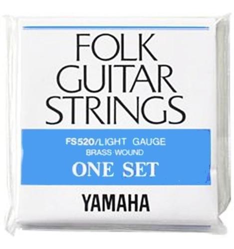 set cuerdas guitarra electroacustica 12-53 (+ envio) yamaha