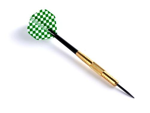 set dardos profesional x3 dardos juego tiro al blanco 22-24g
