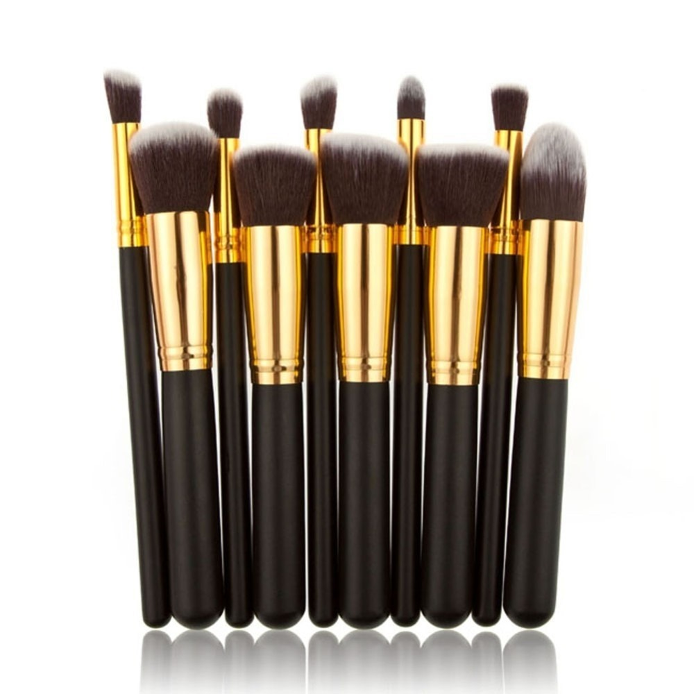 2668fd16b45e0 set de 10 brochas kabuki maquillaje profesional+envio gratis. Cargando zoom.