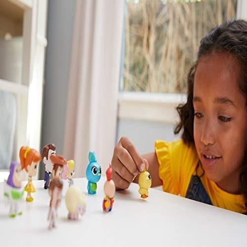 set de 10 figuras minis toy story 4 disney mattel para niños