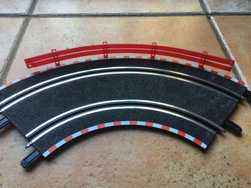 set de 10 muros de contencion p/ autopista scx compact 1/43